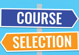 Grade 8-11 Course Selection for 2019/20 Academic Year |